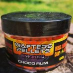 Wafters Pellets-Smoked-Choco Rum 6mm (csoki rum,fluo narancs)