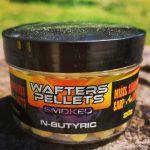 Wafters Pellets-Smoked-N-Butyric 6mm (vajsav,tört sárga)