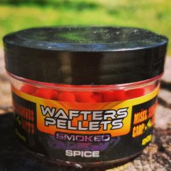 Wafters Pellets-Smoked-Spice 6mm (fűszer,fluo piros)
