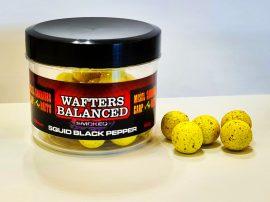 Wafters Balanced 16mm-Smoked Squid-Black Pepper (tintahal-fekete bors)