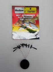 Gumiütköző, úszórögzítővel M-es méret 7247001
