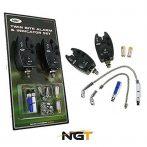 NGT VX2 Bite Alarm and Indicator Set (VX2 komplett kapásjelző szett)