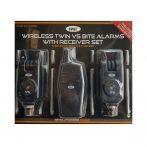 NGT VS Wireless Alarm & Transmitter Set (rádiós kapásjelző szett-2db-vevő egységgel)