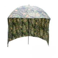 NGT Brolly-45 (napernyő camo 220cm, zippzáras oldalfallal)
