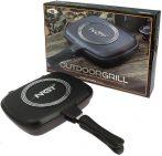 NGT Outdoor Grill Pan (kétoldalas serpenyő)