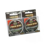 NGT Liquid Wire Leaders 40Lb Olive (ólom mentes lead core oliva-10m)