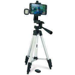 NGT Selfie Tripod Set (Foto és selfie állvány, vakkuval, távirányítóval)