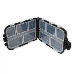 NGT Anglers Mini Bit Box - 405 black (mini horogtartó,dupla-fekete)