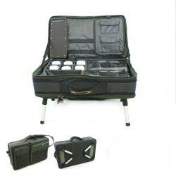 NGT Bivvy Table System (komplett szerelékes asztal az összes kiegészítővel)