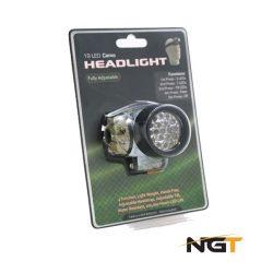NGT 19 LED Multi-Function Headlight In Camo (fejlámpa 19 ledes,camo)