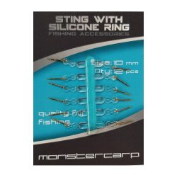 Monstercarp-Sting With Silicone Ring 10 (csalitüske szilikon füllel 10mm)