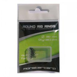 Monstercarp-Round Rig Rings 3,1mm (fém karika 3,1mm)