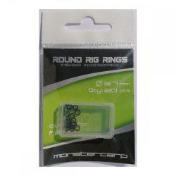 Monstercarp-Round Rig Rings 3,7mm (fém karika 3,7mm)