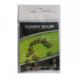 Monstercarp-Rubber Beads 6mm (gumi gyöngy 6mm)
